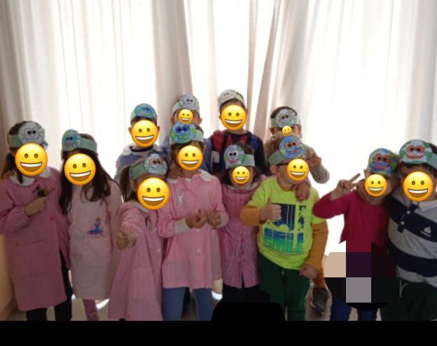 La Giornata della Terra dei bambini della sez A